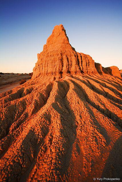 Walls of China - Mungo National Park, NSW Australia