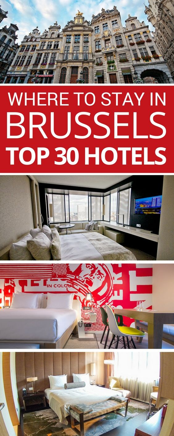 Wondering where to stay in Brussels? Whether you're visiting Belgium for the first time or you need to recommend a hotel to visiting family, we share the best hotels for luxury, budget, families, and more.