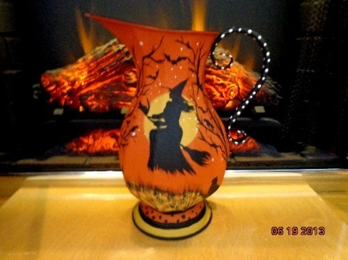 sell it yourself ornate witches halloween - Halloween Pitchers