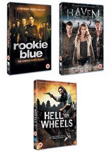 Sky Sports - Rookie Blue, Haven and Hell on Wheels