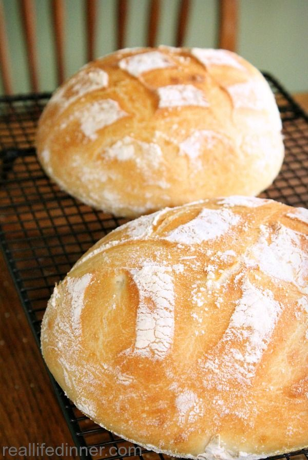 This post teaches you how to make Perfect Artisan Bread with step by step pictures and instructions. ~ http://reallifedinner.com
