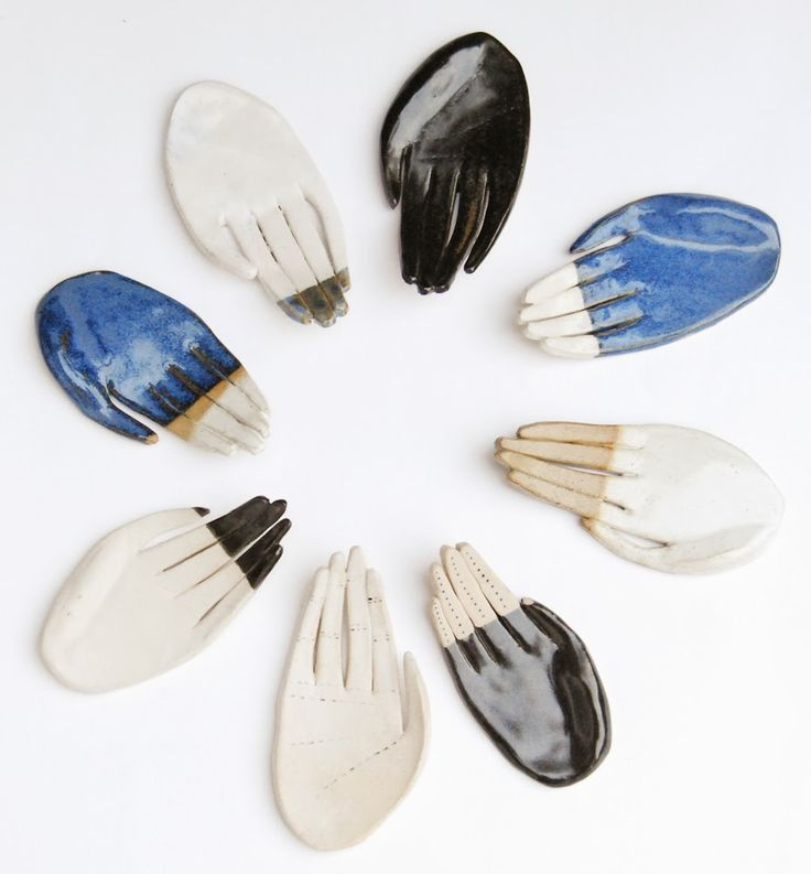 ceramic hands// Protected Species - www.protected-species.com