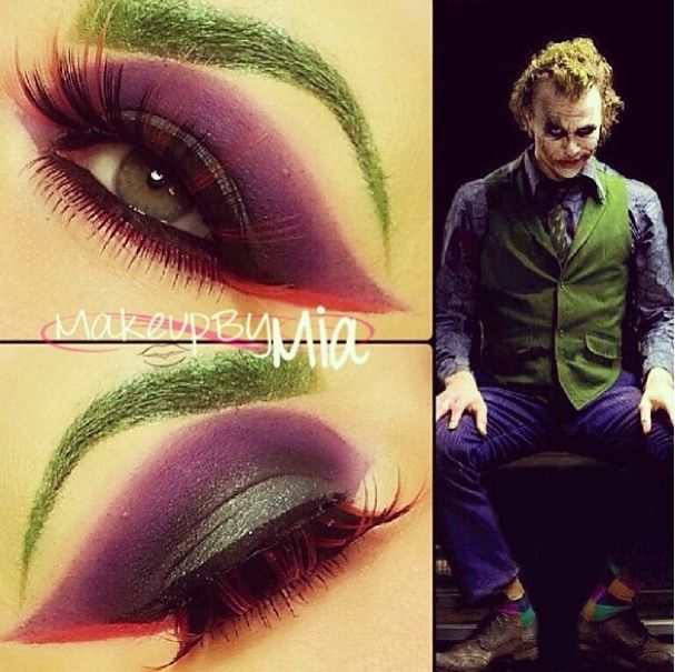 joker makeup - Yahoo Image Search Results