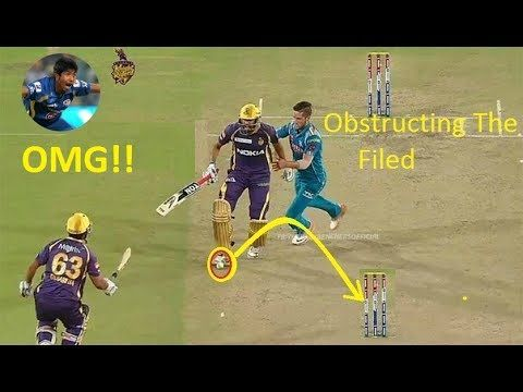 Obstructing the Field Compilation in Cricket ●► Cricket Weird Dismissals|| - http://crickethq.net/obstructing-the-field-compilation-in-cricket-%e2%97%8f%e2%96%ba-cricket-weird-dismissals/