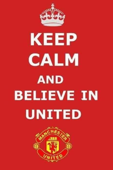 Manchester United will remain my favourite club (apart from Kaizer Chiefs and Barcelona) for a while still...