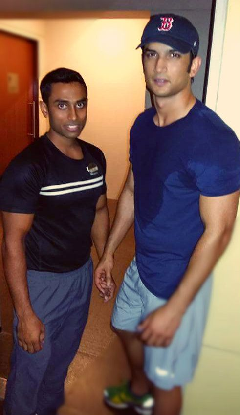 Actor Sushant Singh Rajput drops by for a fitness session!
