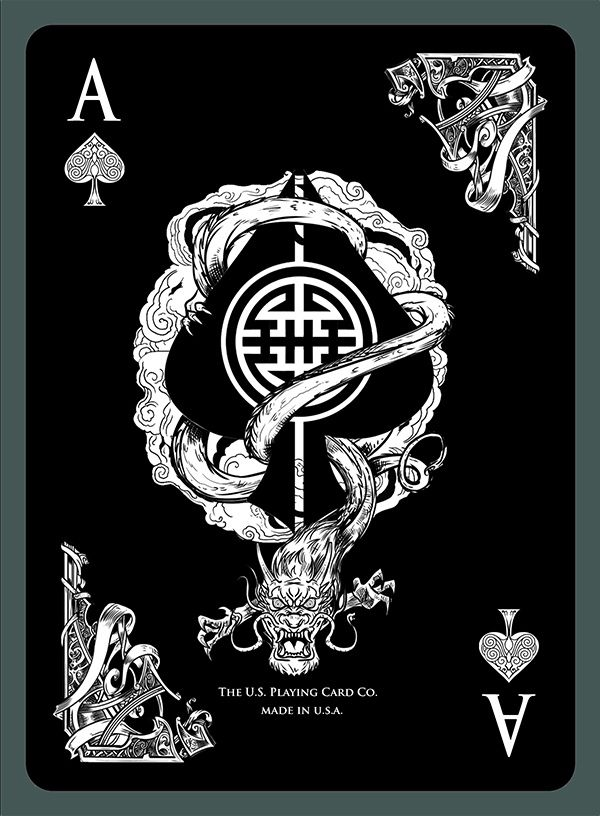 Middle Kingdom Bicycle® Playing Cards Printed by USPC by Doug Frye — Kickstarter