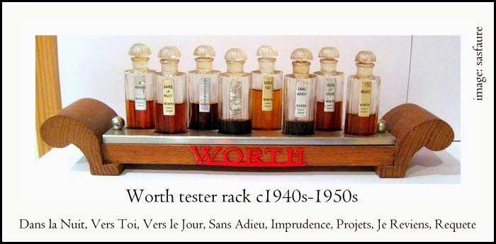 Worth Perfumes: Worth Perfume Tester Racks