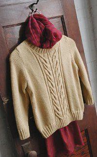 Wishbone and Cream Sweater free pattern on  All Free Knitting at http://www.allfreeknitting.com/Cable-Sweaters/wishbone-and-cream-sweater/ml/1#xOBHqSRBiiwXgKII.32