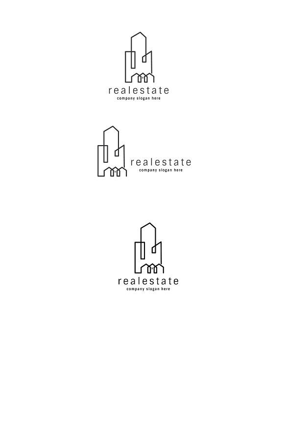 realestate logo by goodigital on graphicsauthor templates