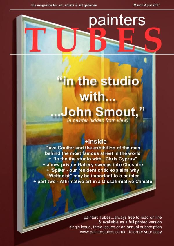 painters Tubes magazine issue #2 March April