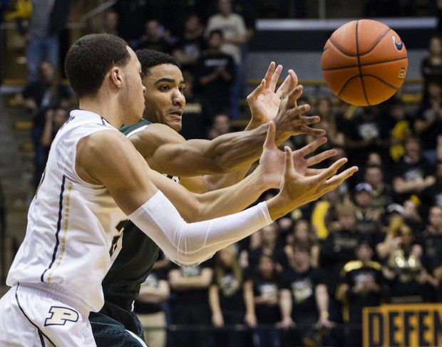 Michigan State's Gary Harris solidifies his Hoosier state supremacy in win over Purdue | MLive.com