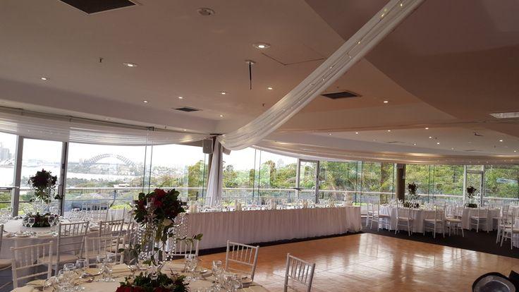 ceiling draping taronga center