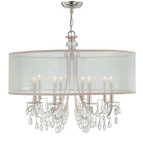 C5628ch hampton mid sized chandelier chandelier polished chrome at fergusonshowrooms com