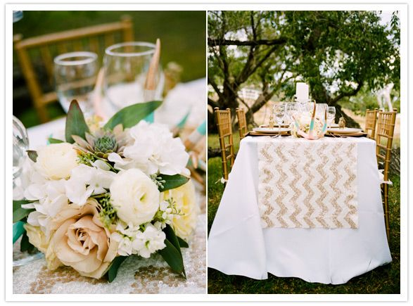 Rustic glam wedding decor featured by 100 layer cake for Decoration layer cake