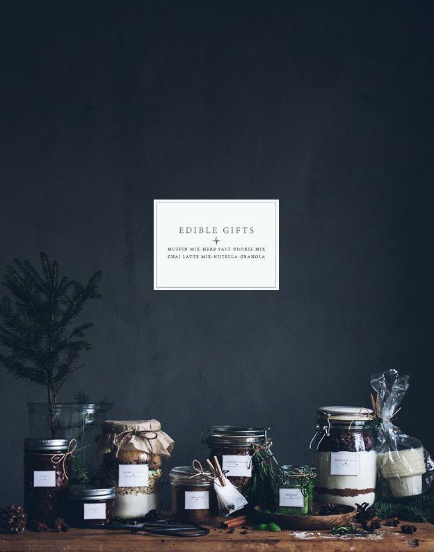 DIY - Edible gifts in jars
