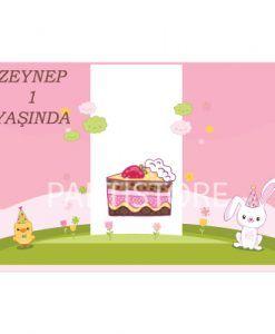 Doğum günü parti süslemeleri için Tavşan ve Civciv Temalı Amerikan Servisi ürünümüzü online olarak uygun fiyatlar ile satın alabilirsiniz