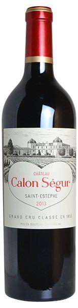 【楽天市場】シャトー カロン セギュール 2013 赤ワイン 750ml フルボディ メドック グラン クリュ クラッセ 公式格付第三級Chateau Calon Segur [2013] AOC Saint-Estephe Grand Cru Classe du Medoc en 185:うきうきワインの玉手箱