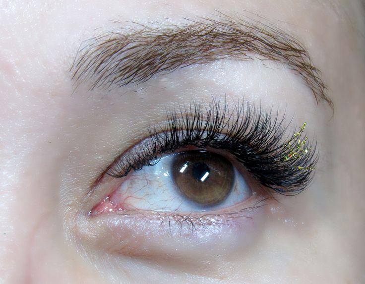 Sparkling gold!))) 3D, C curl. 10-13mms.
