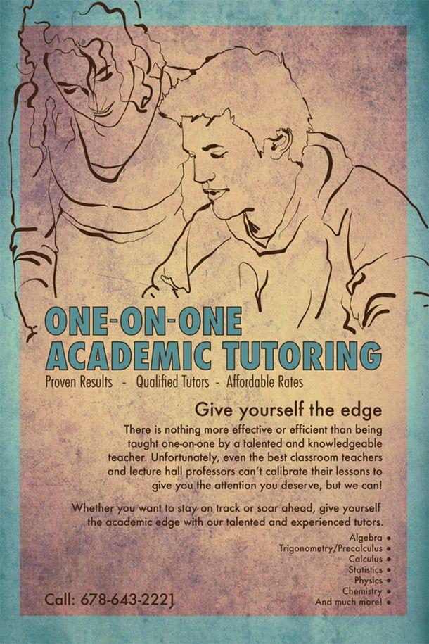 15 cool tutoring flyers 1