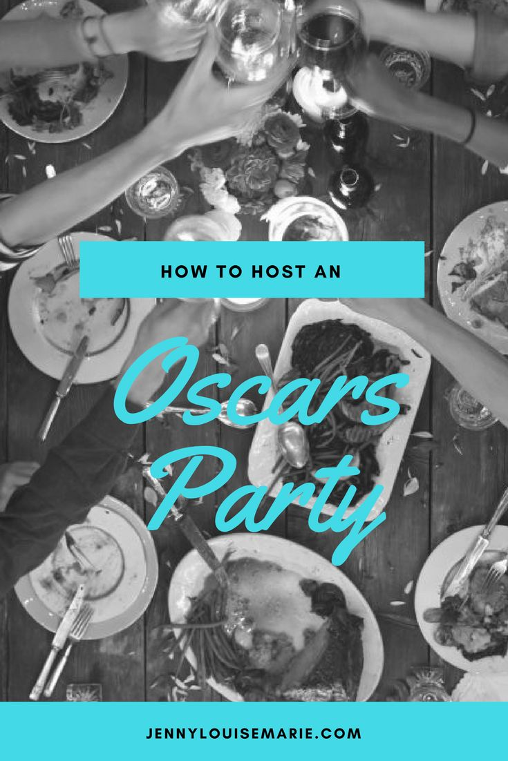 It's awards show season.  Wouldn't it be fun to watch together this year?  Hop on over and see how easy it can be to Host an Oscars Party.  I've got everything you need.