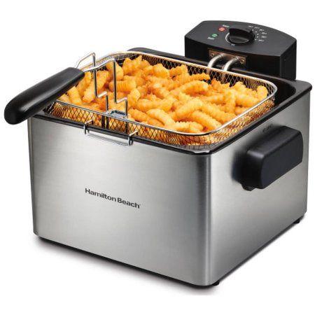 Hamilton Beach Professional-Style Deep Fryer , Model# 35042, Multicolor