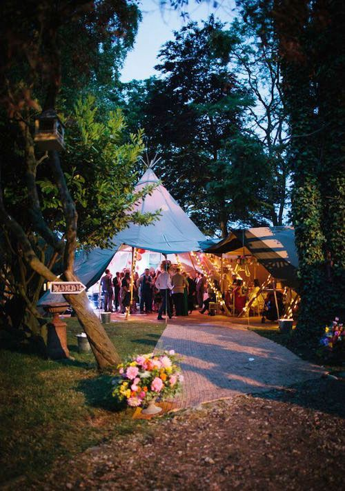 Here is a little piece we wrote about Having a Tipi wedding http://www.yourperfectweddingphotographer.co.uk/article/sami-tipi-wedding/ Photo by http://www.alexandrajane.co.uk