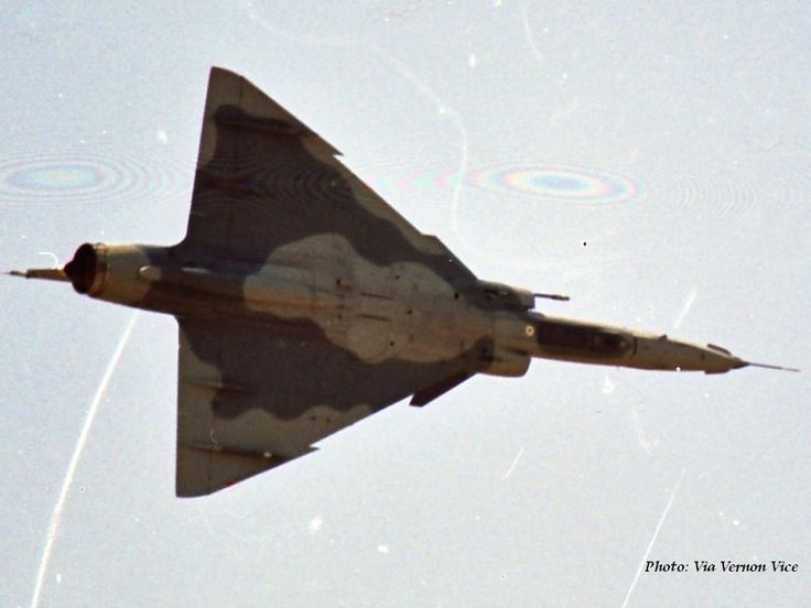 The South African Air Force - Cheetah fighter jet