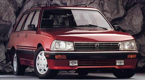 1986 Peugeot Wagon