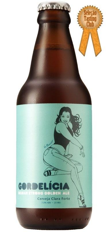 Cerveja Urbana Gordelícia Belgian Strong Golden Ale - 300ml - Cerveja Store