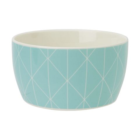Cereal Bowl - Mint Geo