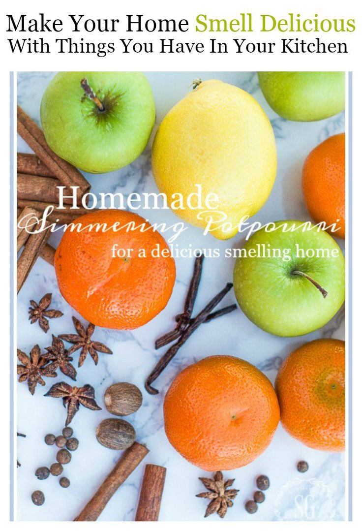 EASY HOMEMADE SIMMERING POTPOURRI - StoneGable