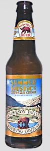 Summer Solstice Cerveza Crema -Anderson Valley Brewing Company  (Boonville, California, United States)    Cream Ale | 6% ABV