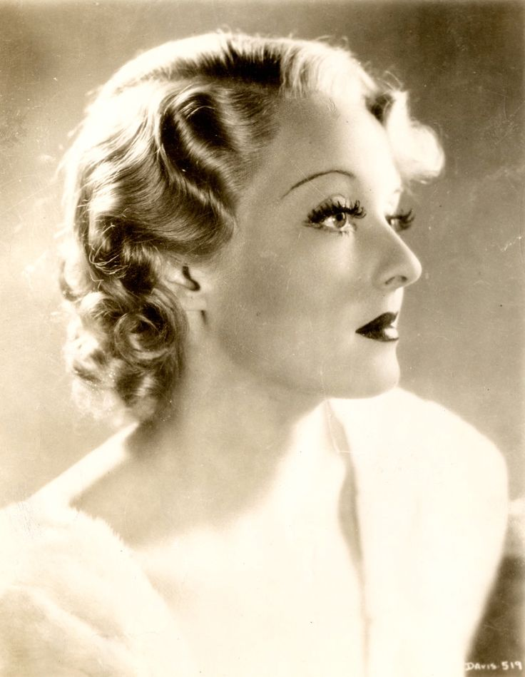 Bette Davis Vintage Hairstyles Pinterest