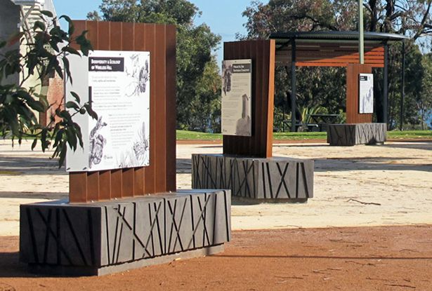 City of Melville Wireless Hill #interpretive #signage #design with Steve Tepper