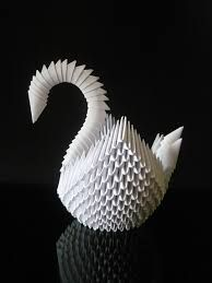 origami labute - Hledat Googlem