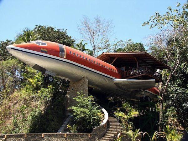 Ξενοδοχείο - αεροπλάνο στην Κόστα Ρίκα