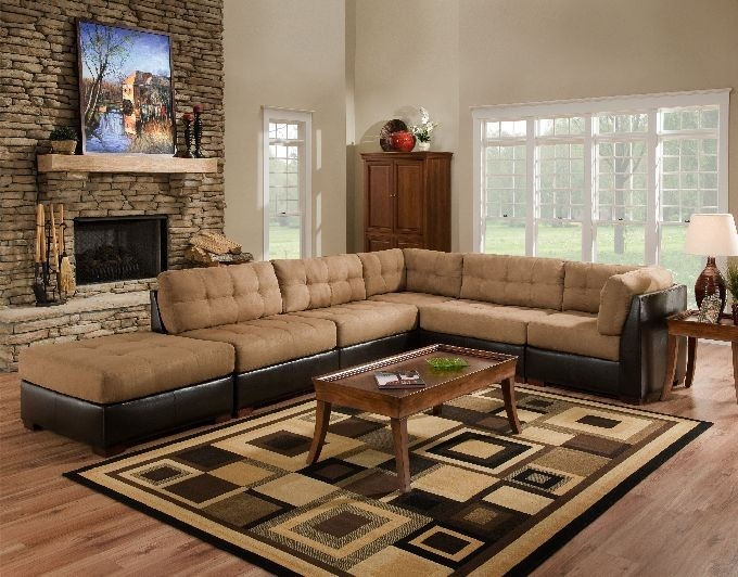 Modular Sectional From Carlu0027s Furniture City.