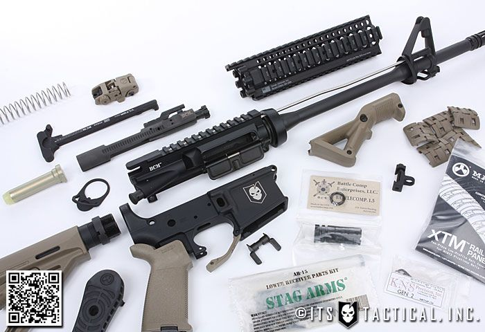 ITS Tactical DIY AR-15 Build: Introduction, parts & tools required