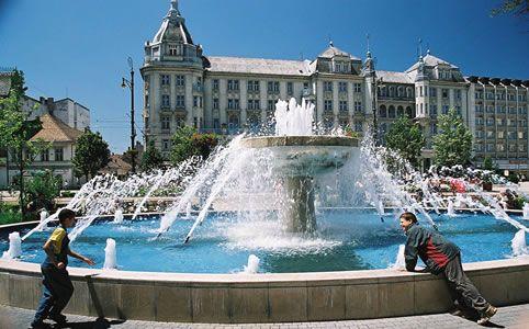 Kis szökőkút, Debrecen