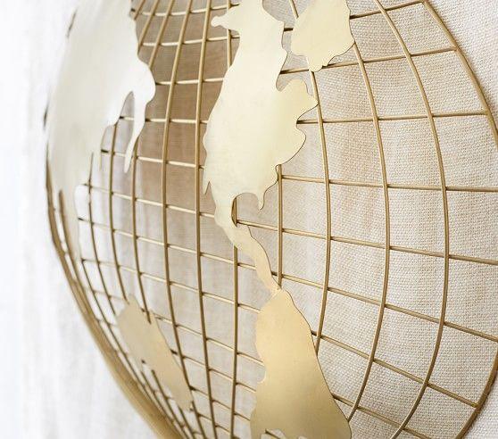 3D Map Wall Decor | Pottery Barn Kids