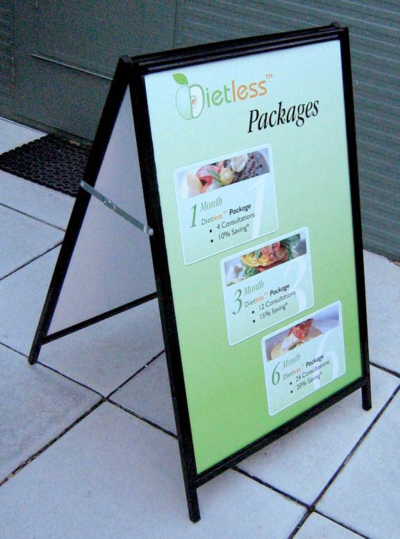 Dietless Package - #Standard #Signage