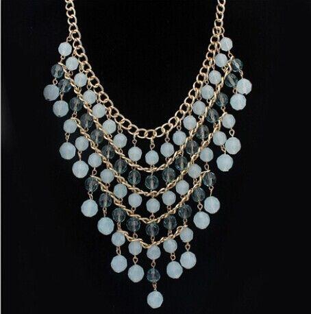 2015 nueva llegada de moda collar de la joyería venta al por mayor caliente Bohemia cada mejora la by asociación con el otro collares de múltiples capas