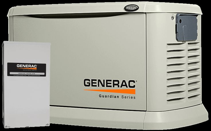 Guardian 20kW with Whole House Switch-$4589 msrp