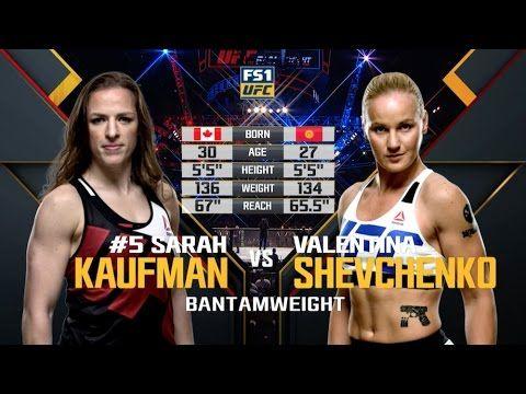 UFC on FOX 23 Free Fight: Valentina Shevchenko vs Sarah Kaufman – www.nsgamer.com