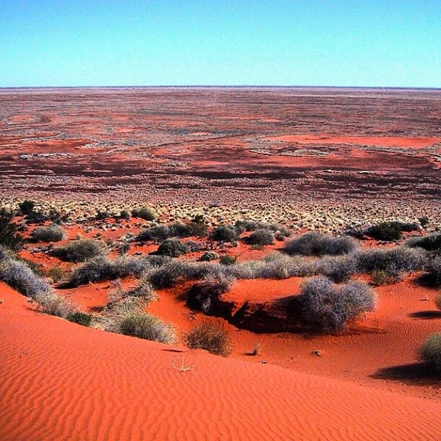 The Simpson Desert, NT