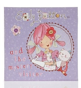 Emily Button & The Mystery Visitor  This new adventure for Emily Button and her friends. Bobble the cat and Mousey the mouse, leaves them with a prickly problem to solve.