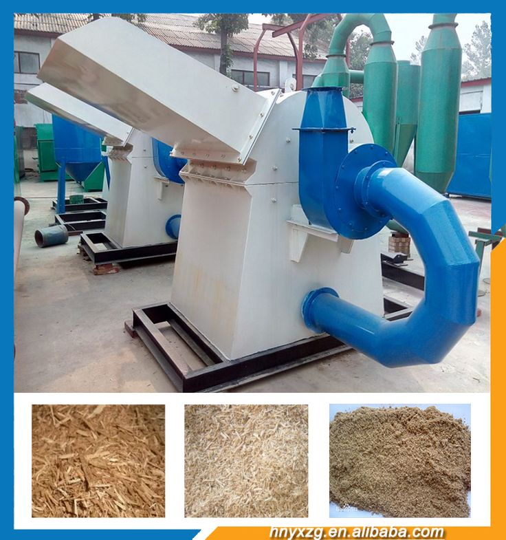 Factory sale new type rice straw grinding machine tree hammer mill