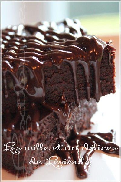 les milles & un délices de ~lexibule~: ~Brownies au chocolat et kahlua~