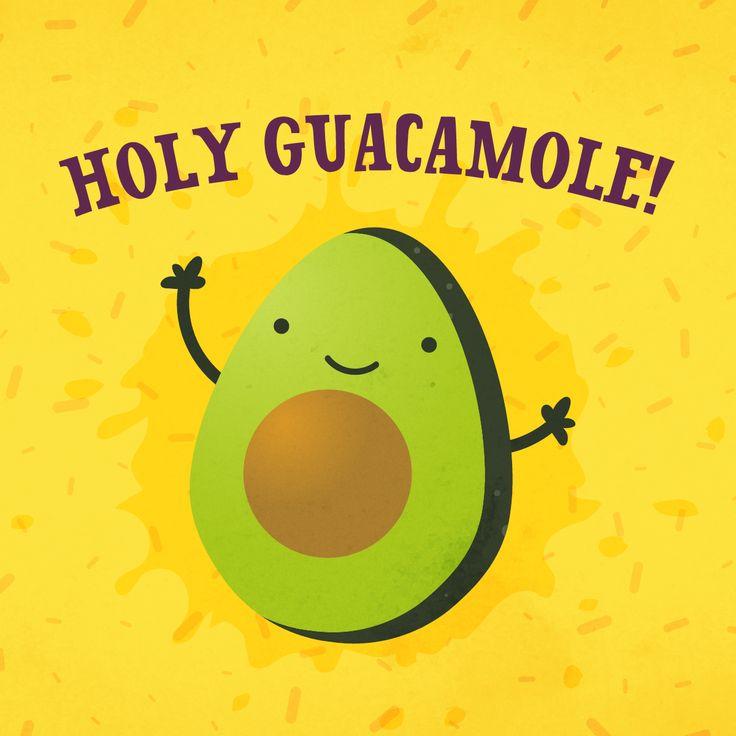 Holy Guacamole! #quote #guacamole #avocado #taco #frase